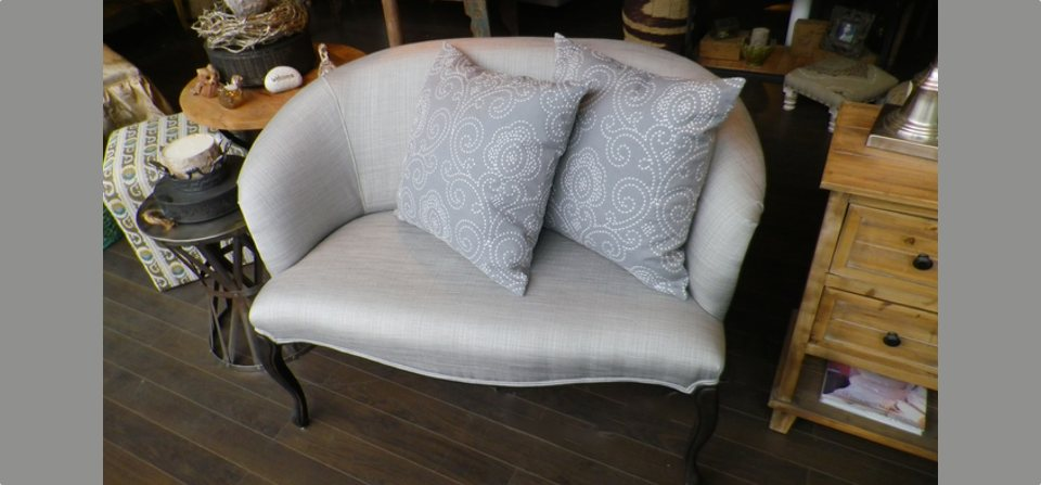 Cosy Love Seats in Dove Grey
