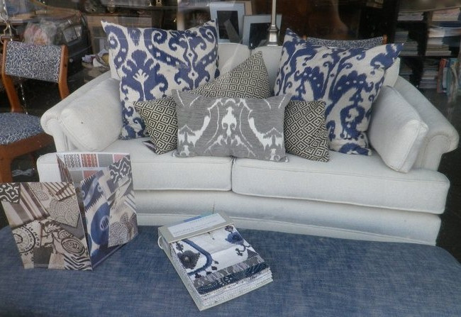 Brighten a Simple Loveseat with Colour